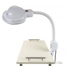 LED Лампа — лупа с креплением к столу 357MS-2502T