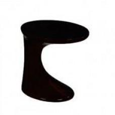 Стол журнальный Дуэт, пластиковый, цвет черный
