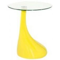 Стол журнальный Перла, цвет желтый