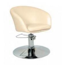 Кресло парикмахерское A Мурат P, экокожа бежевая