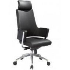 Офисное кресло Аризона, высокая спинка, цвет черный
